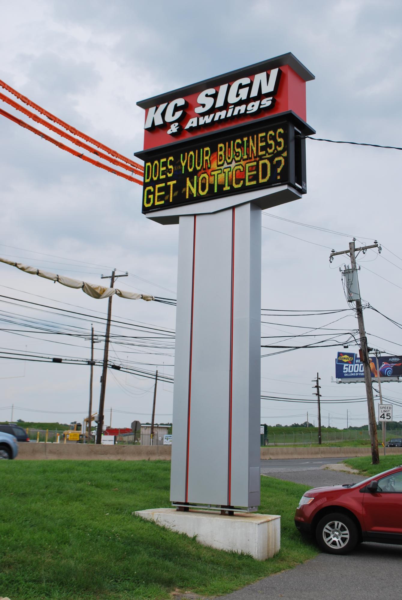 Kc Led Message Board Kc Sign Amp Awnings Blog
